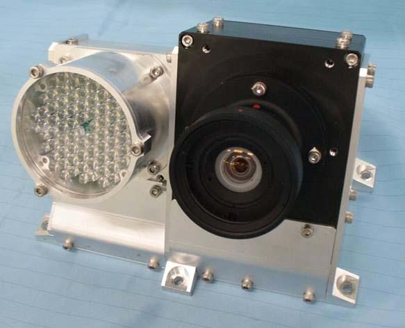 衛星搭載用モニタカメラ