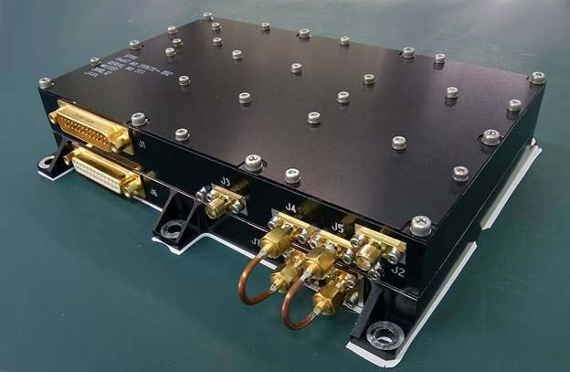 衛星搭載用1Mbps Sバンド送受信機