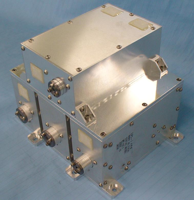 衛星搭載用粒子検出器