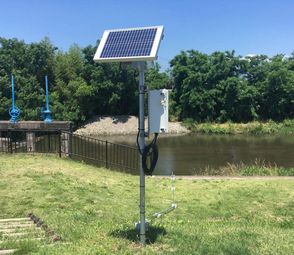 ため池監視システム