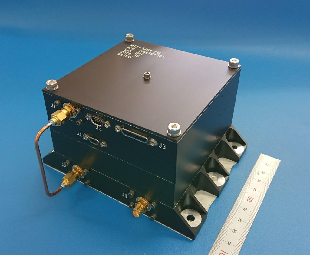 衛星搭載用Xバンド送信機(MTX-540X)