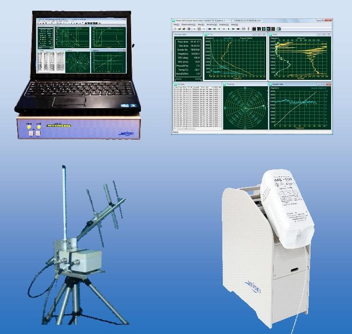 簡易GPSゾンデ受信システム RD-08AC