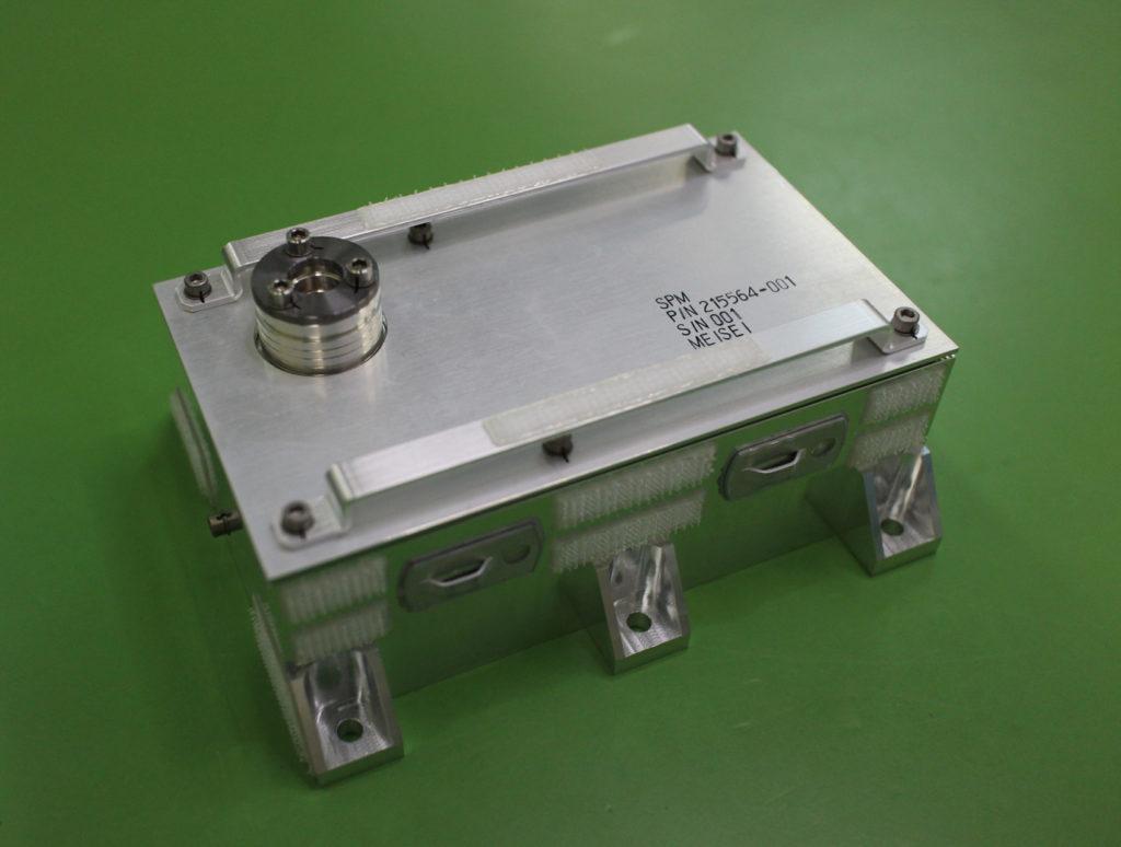衛星搭載用粒子エネルギスペクトロメータ(SPM)